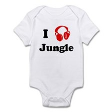 Jungle music Infant Bodysuit