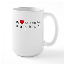 My Heart Belongs To Rashad Mug