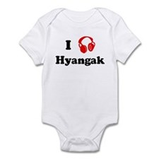 Hyangak music Infant Bodysuit