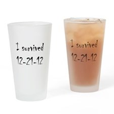 I Survived Drinking Glass