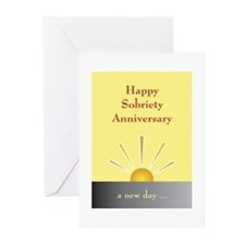 Funny Sobriety Greeting Cards (Pk of 20)