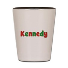 Kennedy Christmas Shot Glass
