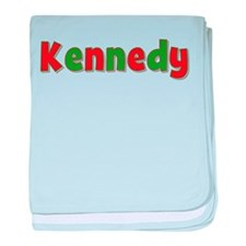 Kennedy Christmas baby blanket