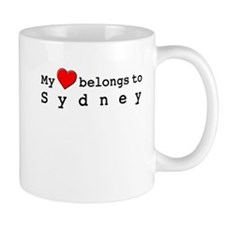 My Heart Belongs To Sydney Mug