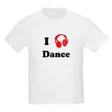 Dance music Kids T-Shirt