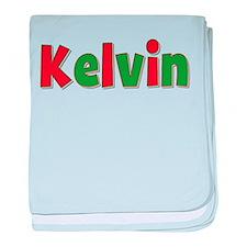 Kelvin Christmas baby blanket