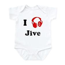 Jive music Infant Bodysuit