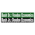 Doodoo Economics Bumper Sticker
