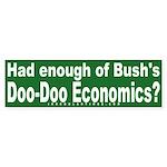 Doo-Doo Economics Bumper Sticker
