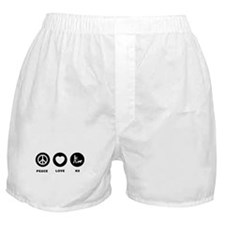 K9 Police Officer Boxer Shorts