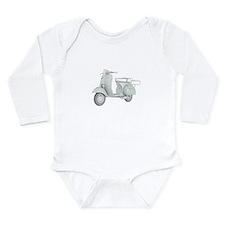 1959 Piaggio Vespa Long Sleeve Infant Bodysuit