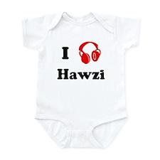 Hawzi music Infant Bodysuit