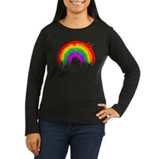 rainbowsplatTRANSP Long Sleeve T-Shirt