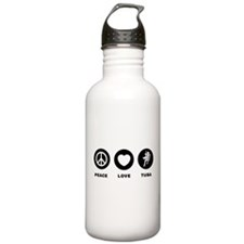 Tuba Player Water Bottle