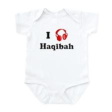 Haqibah music Infant Bodysuit