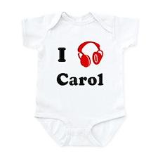 Carol music Infant Bodysuit