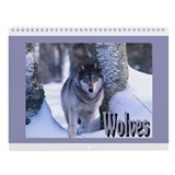 &quot;Wolves&quot; Wall Calendar
