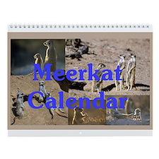 """Meerkats"" Wall Calendar #1"
