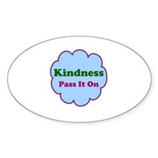 Kindness Pass It On Decal