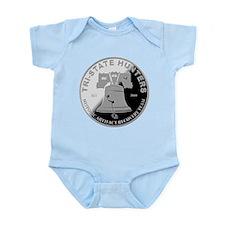 Tri State Hunters Logo Infant Bodysuit