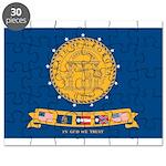 Flag of Georgia 2001-2003 Puzzle
