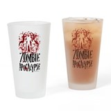 Cool Zombie Drinking Glass