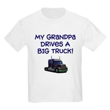 My Grandpa drives... Ash Grey T-Shirt T-Shirt