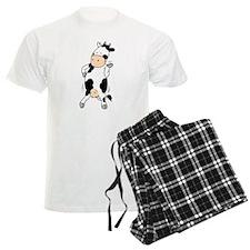 Mooviestars - Hipster Cow pajamas