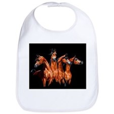 Four Horses Bib