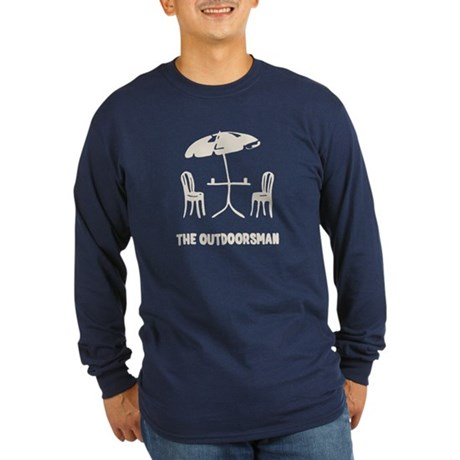 The Outdoorsman Long Sleeve T-Shirt