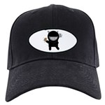 Ninja Kitty Black Cap