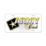Army Dad Aluminum License Plate