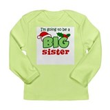 Big Sister to be - Christmas Long Sleeve T-Shirt