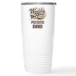 Pomimo Dog Dad Ceramic Travel Mug