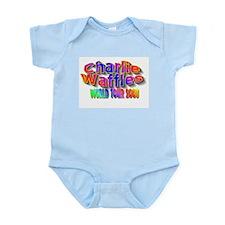 charlie waffles.jpg Infant Bodysuit