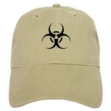 Bio Hazard Icon (C) Baseball Cap