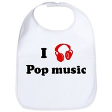 Pop music music Bib