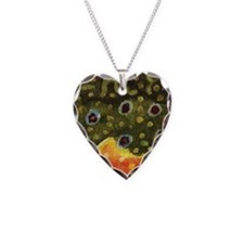 Brook Trout Fly Fishing Necklace