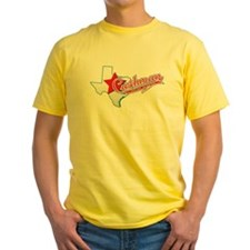 Texas Cushman Club Design T-Shirt