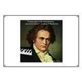 Beethoven Graphic Poetry Quote Banner