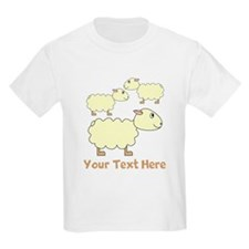 Three Sheep with Text. T-Shirt