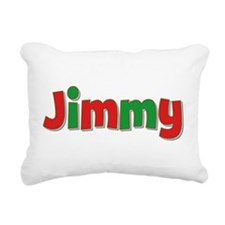 Jimmy Christmas Rectangular Canvas Pillow