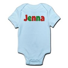Jenna Christmas Infant Bodysuit