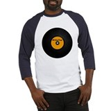 Old School Vinyl Record Baseball Jersey