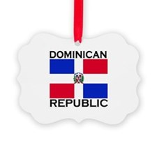 Unique Dominican republic Ornament