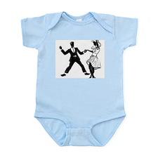 Swing Dancers Infant Bodysuit