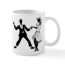 Swing Dancers Small Mug