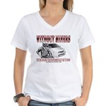 Without Miners Environmentalist Women's V-Neck T-S