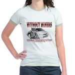 Without Miners Environmentalist Jr. Ringer T-Shirt