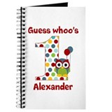 Custom guess whos 1 boy Journal